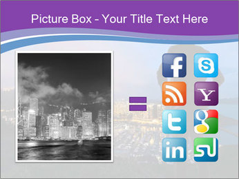 Man Enjoys Sunset PowerPoint Template - Slide 21