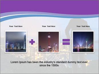 Man Enjoys Sunset PowerPoint Template - Slide 22