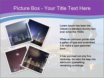 Man Enjoys Sunset PowerPoint Template - Slide 23
