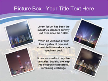 Man Enjoys Sunset PowerPoint Template - Slide 24