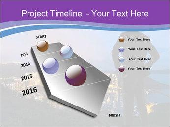 Man Enjoys Sunset PowerPoint Template - Slide 26