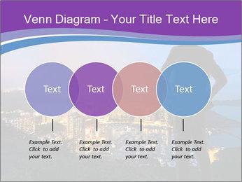 Man Enjoys Sunset PowerPoint Template - Slide 32