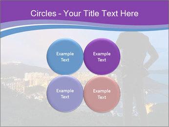 Man Enjoys Sunset PowerPoint Template - Slide 38