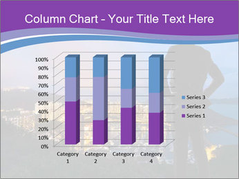 Man Enjoys Sunset PowerPoint Template - Slide 50