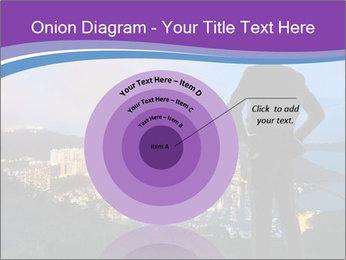 Man Enjoys Sunset PowerPoint Template - Slide 61