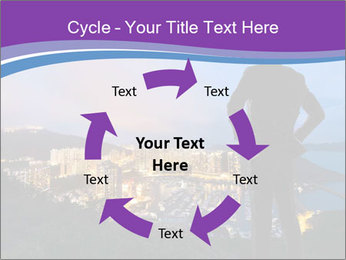 Man Enjoys Sunset PowerPoint Template - Slide 62