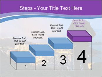 Man Enjoys Sunset PowerPoint Template - Slide 64