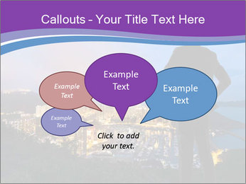 Man Enjoys Sunset PowerPoint Template - Slide 73