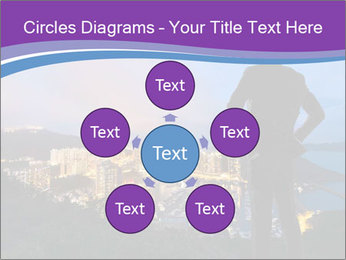 Man Enjoys Sunset PowerPoint Template - Slide 78