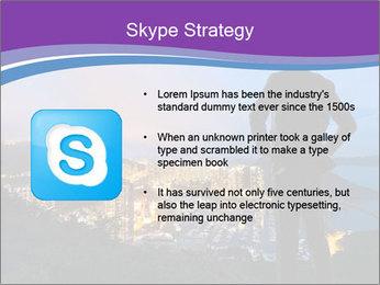 Man Enjoys Sunset PowerPoint Template - Slide 8