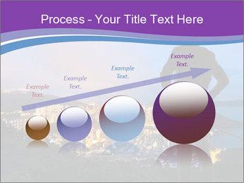 Man Enjoys Sunset PowerPoint Template - Slide 87