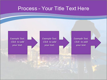 Man Enjoys Sunset PowerPoint Template - Slide 88