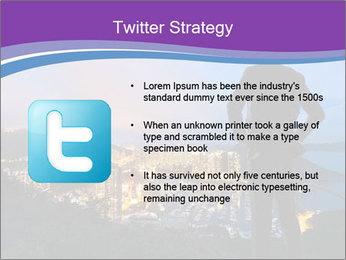 Man Enjoys Sunset PowerPoint Template - Slide 9