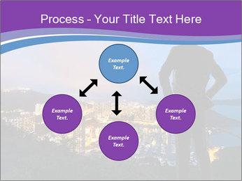 Man Enjoys Sunset PowerPoint Template - Slide 91