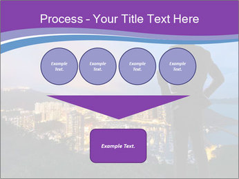 Man Enjoys Sunset PowerPoint Template - Slide 93