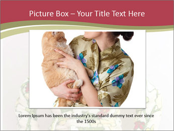 Sad Housewife PowerPoint Templates - Slide 16