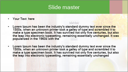 Orange Food PowerPoint Template - Slide 2