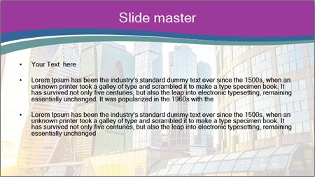 Modern Buildings In Russia PowerPoint Template - Slide 2