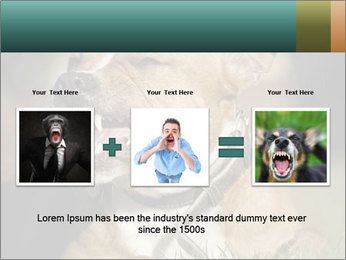 Aggressive Dog PowerPoint Template - Slide 22