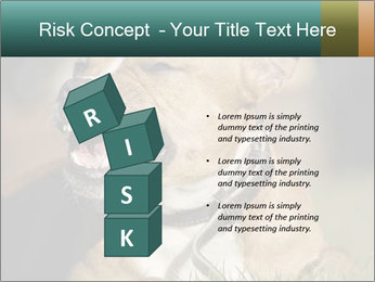 Aggressive Dog PowerPoint Template - Slide 81