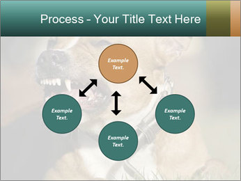 Aggressive Dog PowerPoint Template - Slide 91