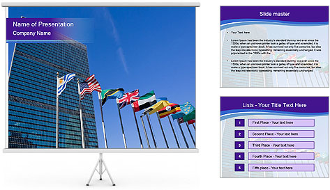 Politic Center PowerPoint Template