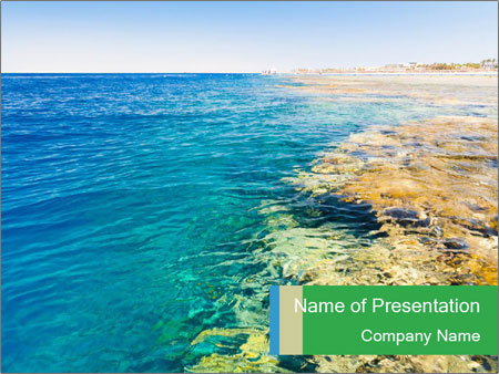 Idyll Seascape PowerPoint Templates