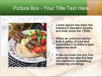 Greek Dish PowerPoint Template - Slide 13