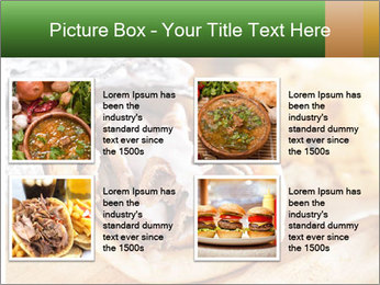 Greek Dish PowerPoint Template - Slide 14