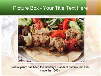 Greek Dish PowerPoint Template - Slide 15
