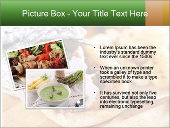 Greek Dish PowerPoint Template - Slide 20