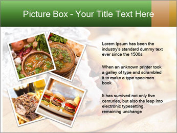 Greek Dish PowerPoint Template - Slide 23