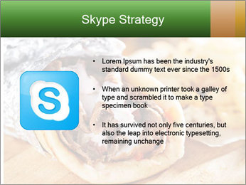Greek Dish PowerPoint Template - Slide 8