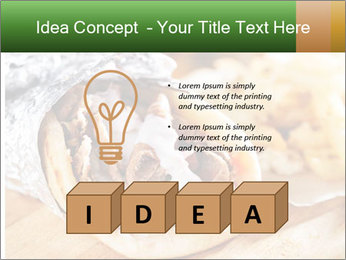 Greek Dish PowerPoint Template - Slide 80