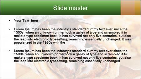 Greek Dish PowerPoint Template - Slide 2
