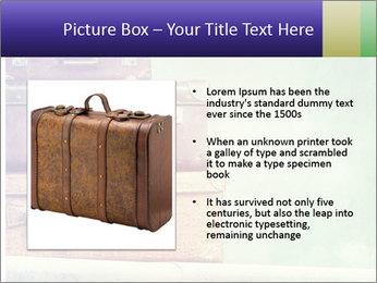 Vintage Baggage PowerPoint Templates - Slide 13