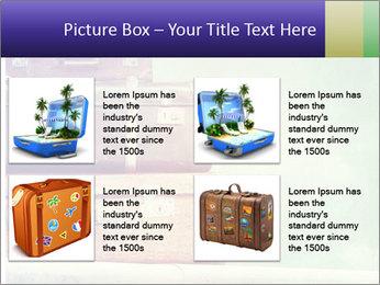 Vintage Baggage PowerPoint Template - Slide 14