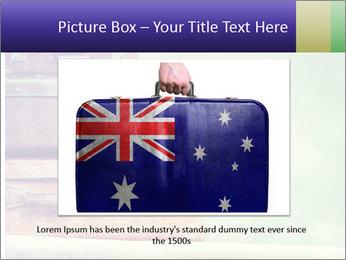 Vintage Baggage PowerPoint Templates - Slide 15