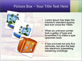 Vintage Baggage PowerPoint Template - Slide 17