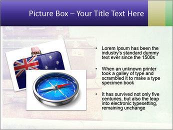 Vintage Baggage PowerPoint Template - Slide 20