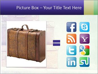 Vintage Baggage PowerPoint Template - Slide 21