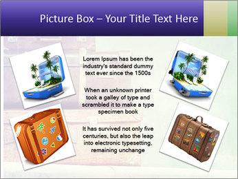 Vintage Baggage PowerPoint Template - Slide 24