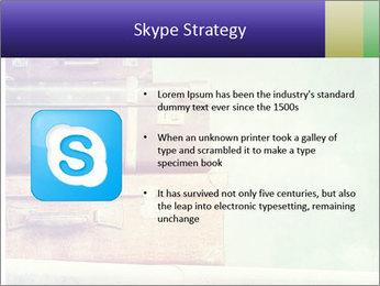 Vintage Baggage PowerPoint Template - Slide 8