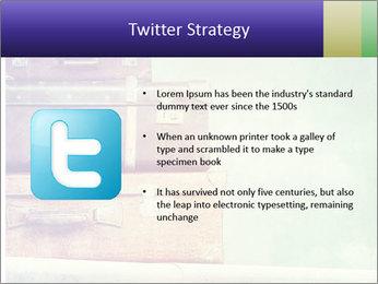 Vintage Baggage PowerPoint Templates - Slide 9