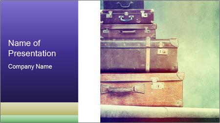 Vintage Baggage PowerPoint Template