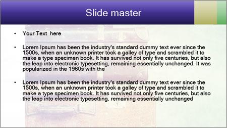 Vintage Baggage PowerPoint Template - Slide 2