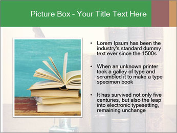Books And Ink PowerPoint Template - Slide 13