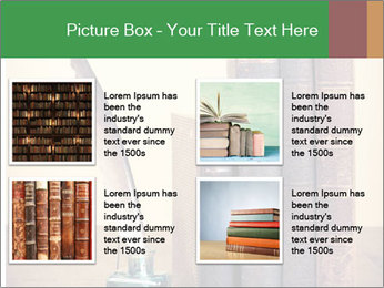 Books And Ink PowerPoint Template - Slide 14