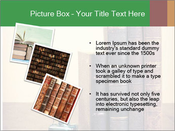 Books And Ink PowerPoint Template - Slide 17