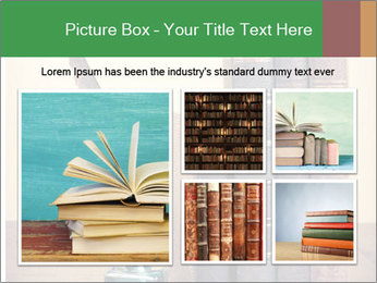 Books And Ink PowerPoint Template - Slide 19